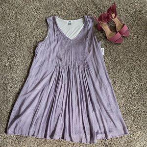 Old Navy   Purple Swing Dress